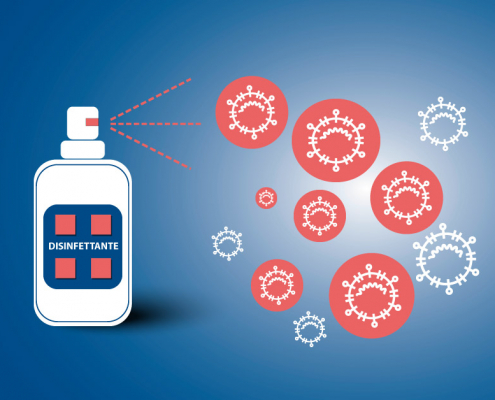 Mater Dei: disinfettante efficace fatto in casa